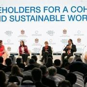 world economic forum, davos, switzerland, 2020, climate change, sustainability, stakeholders